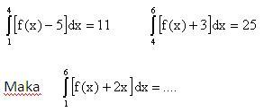 integral tentu 5