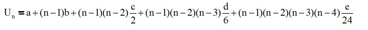 Deret bertingkat aritmetika